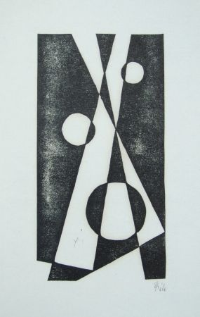 Grabado En Madera Maatsch - Composition