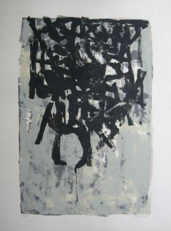 Litografía Bertholo - Composition