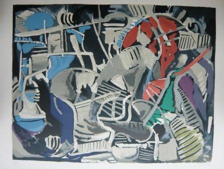 Litografía Lanskoy - Composition