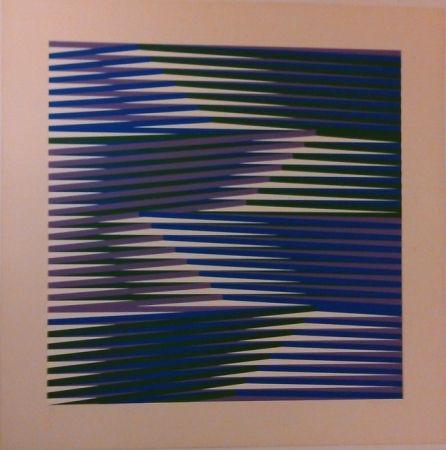 Serigrafía Cruz-Diez - Composition