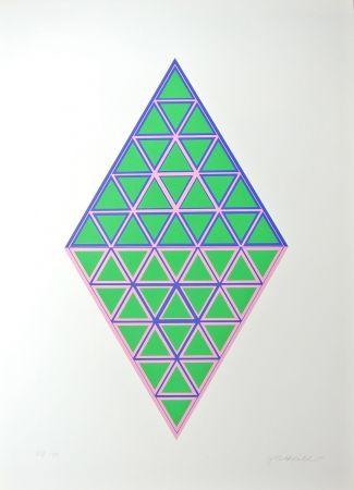 Litografía Glattfelder - Composition