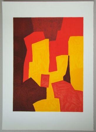 Litografía Poliakoff - Composition
