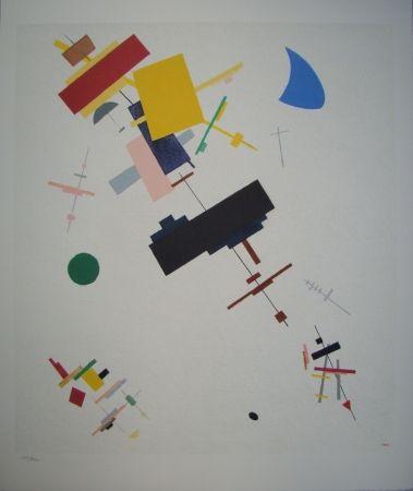 Litografía Malevitch - Composition