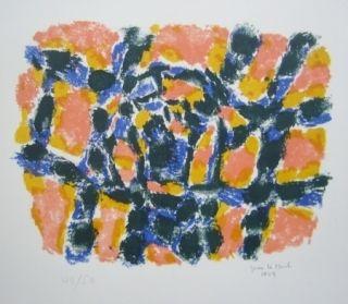 Litografía Le Moal - Composition