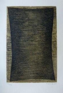 Aguafuerte Y Aguatinta Bergmann - Composition