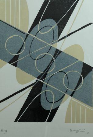 Litografía Bozzolini - Composition