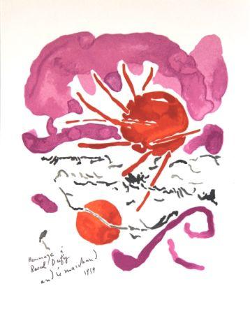 Litografía Marchand - Composition