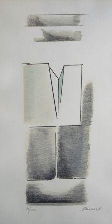 Litografía Mansouroff - Composition