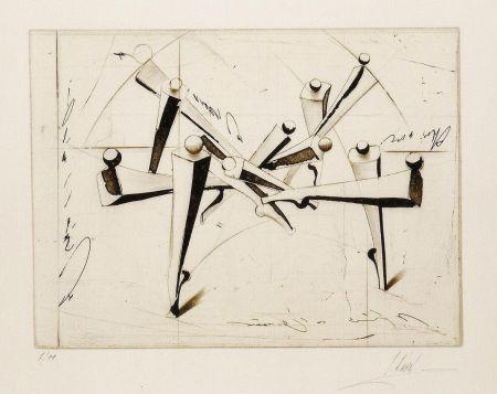 Grabado Kahn - Composition
