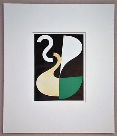 Litografía Taeuber-Arp - Composition