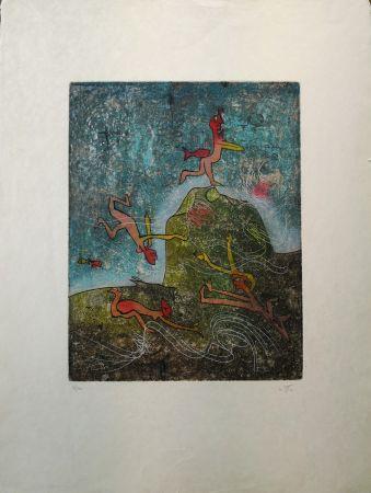 Aguafuerte Matta - Composition