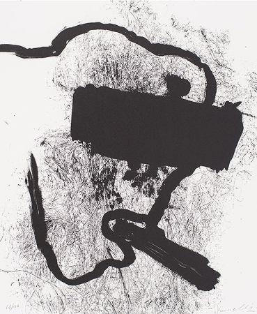 Litografía Kounellis - Composition