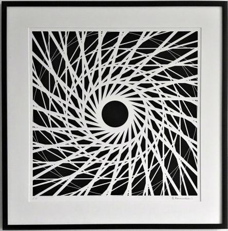 Litografía Morandi - Composition