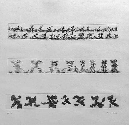 Aguafuerte Michaux - Composition