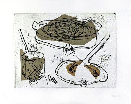 Grabado Barcelo - Composition