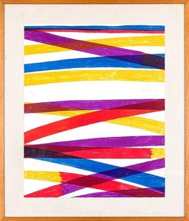 Litografía Dorazio - Composition