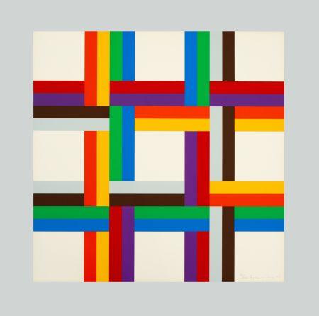 Serigrafía Loewensberg - Composition