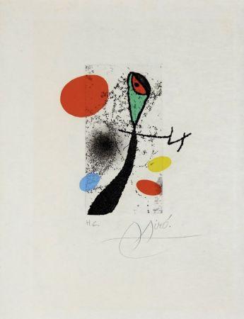 Grabado Miró - Composition