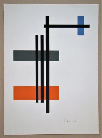 Serigrafía D'ébneth - Composition
