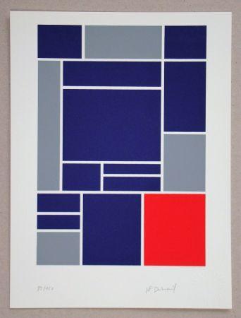 Serigrafía Dubreuil - Composition