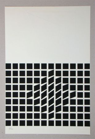 Serigrafía Vasarely - Composition