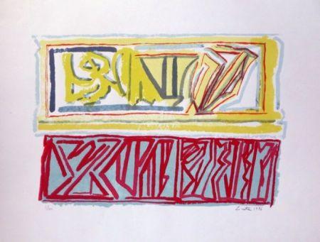 Litografía Licata - Composition