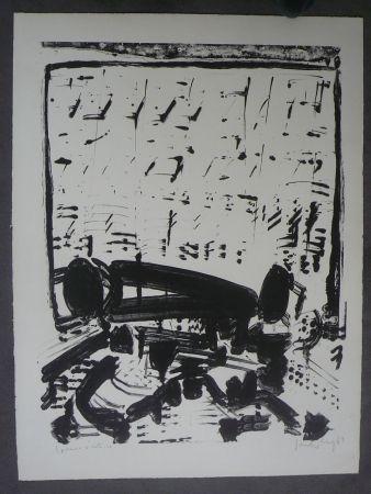 Litografía Sonderborg - Composition,1963
