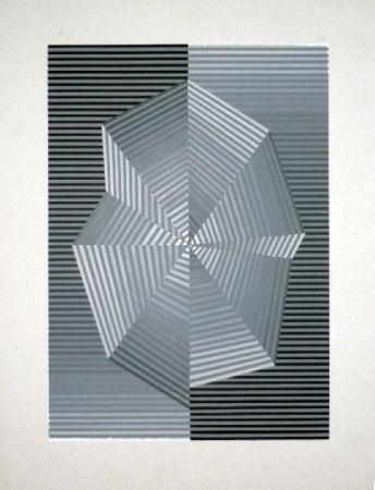 Serigrafía Sempere - Composition 1