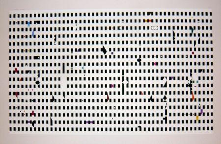 Serigrafía Agam - Composition 1
