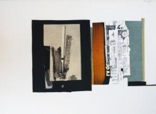 Litografía Garcia Ponce - Composition 1