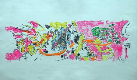 Litografía Matta - Composition 1