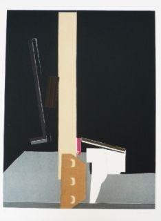 Litografía Garcia Ponce - Composition 11