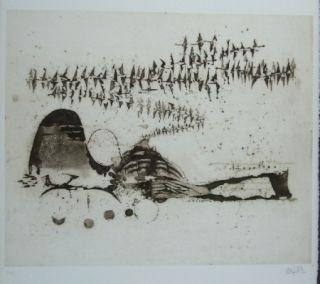 Grabado Friedlaender - Composition 11
