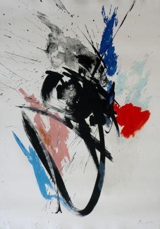 Litografía Miotte - Composition 110