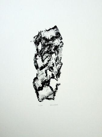 Litografía Michaux - Composition 114