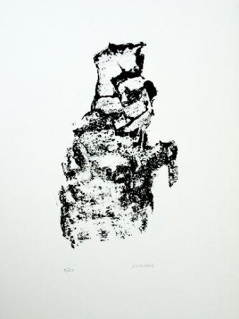 Litografía Michaux - Composition 115