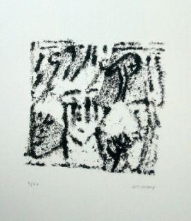 Litografía Michaux - Composition 119