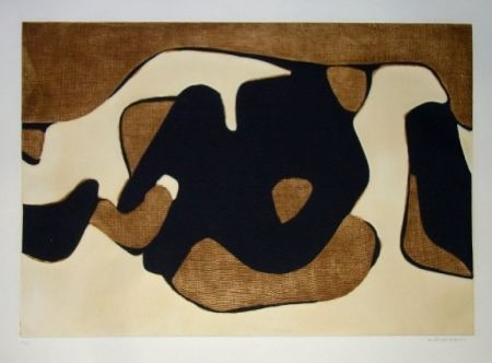 Aguafuerte Y Aguatinta Marca Relli - Composition 12