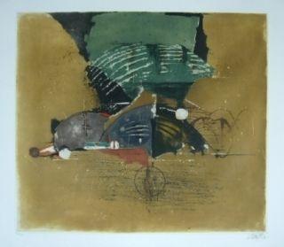 Litografía Friedlaender - Composition 12