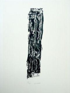 Litografía Michaux - Composition 124