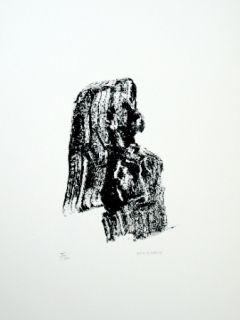 Litografía Michaux - Composition 125