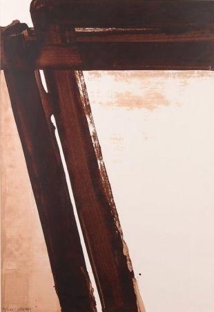 Serigrafía Soulages - Composition 15