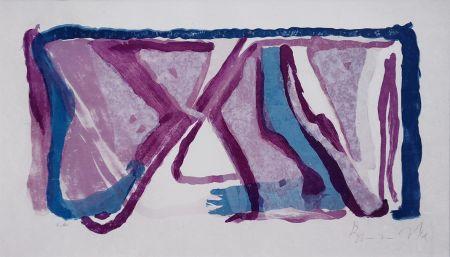 Litografía Van Velde - Composition 170