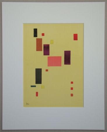 Litografía Kandinsky - Composition, 1931