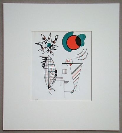 Litografía Kandinsky - Composition, 1934