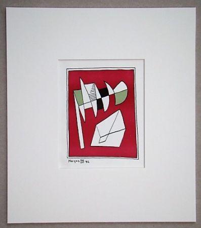 Litografía Magnelli - Composition, 1942