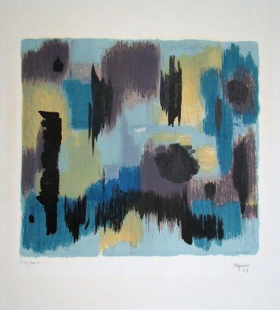 Litografía Bazaine - Composition, 1957