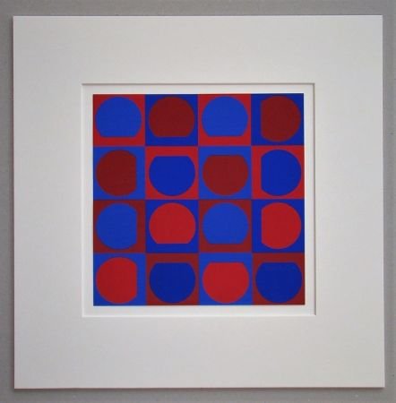 Serigrafía Vasarely - Composition 1964