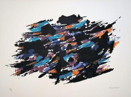 Litografía Manessier - Composition, 1971