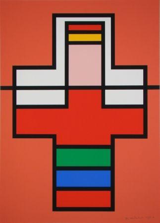 Serigrafía Vandenbranden - Composition, 1988